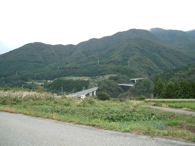 国道121号線 大川ダム 旧道 その...